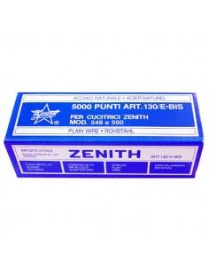 Scatola 5000 Punti Zenith 130/E Bis (6/4) In Acciaio Naturale - 0311301405 - (conf. 10)