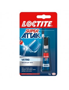 Colla Super Attak Vetro 3Gr - 2047412