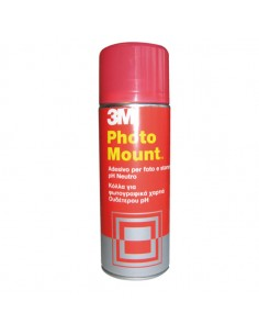 Adesivo Spray 3M Photo Mount Alta Qualita' - Trasparente 400Ml - 58953