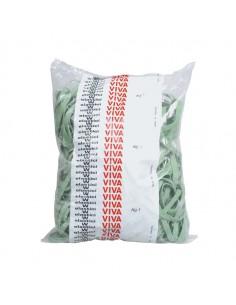 Elastico Fettuccia Verde Ø100 T5 Sacco Da 1Kg - F5X100