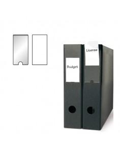 Busta 6 Portaetichette Ppl Adesive Trasparenti 46X75Mm 10330 3L - S852330