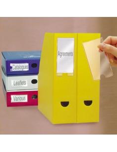 Busta 6 Portaetichette Ppl Adesive Trasparenti 62X150Mm 10345 3L - S852345