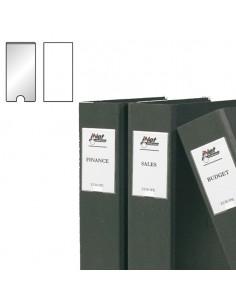 Busta 12 Portaetichette Ppl Adesive Trasparenti 25X75Mm 10310S 3L - S852310