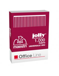 Scatola 1000 Punti Jolly Oro 6/4 Ro-Ma - 1001121 - (conf. 10)