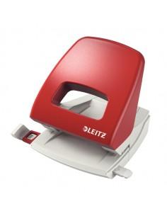 Perforatore 2 Fori Metal Rim 5005 Max 25Fg Rosso Leitz - 50050325