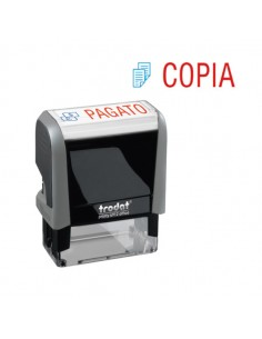 "Timbro Printy Office Eco 47X18Mm ""Copia"" Trodat - 43266."