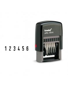 Timbro Printy Eco 4846 Numeratore 6Cifre 4Mm Autoinchiostrante Trodat - 73997.