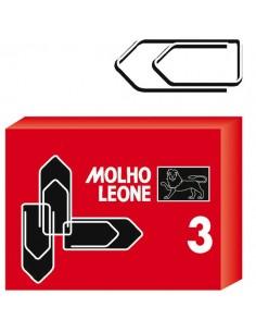Scatola 100 Fermagli N.3 Mm29 Zincati Leone - 21113 - (conf. 10)