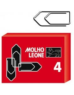 Scatola 100 Fermagli N.4 Mm32 Zincati Leone - 21114 - (conf. 10)