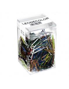 Barattolo 500 Fermagli Colori Metal N.2 Mm26 Leone Color - FX50