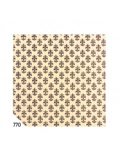 Rotolo Cartarivesto 50X500Cm Giglio Marrone Lavabile Rex58 - REX58-770