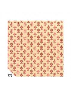 Rotolo Cartarivesto 50X500Cm Giglio Rosso Lavabile Rex58 - REX58-776