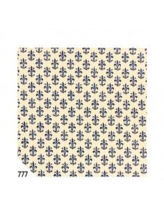 Rotolo Cartarivesto 50X500Cm Giglio Blu Lavabile Rex58 - REX58-777