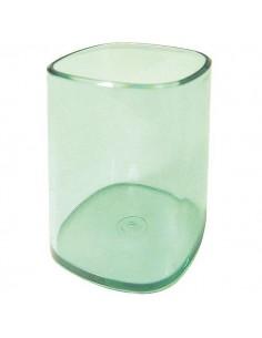 Portapenne Bicchiere Trasparente Verde Arda - TR4111V