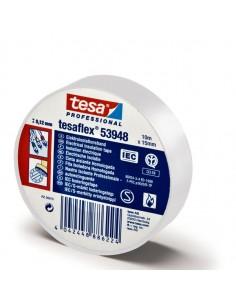 Nastro Adesivo Isolante 10Mtx15Mm Bianco Professionale - 53988-00060-00 - (conf. 10)