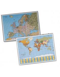 Sottomano Geographic Planisfero 40X53Cm 45350 Laufer - 45350