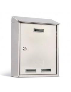 Cassetta Postale 25X30X10Cm Inox Serie Elios - 3100X/1