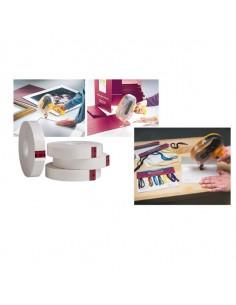 Nastro Biadesivo 55Mtx12Mm 924-1255 S/Supporto X Dispenser Atg - 49821. - (conf. 12)