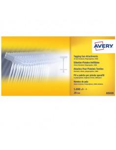Scatola 5000 Fili Standard In Pp 20Mm Per Sparafili Avery - AS020