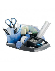 Desk Organizer Ergologic Nero/Blu 13 Scomparti Maped - 751212