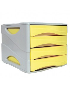 Cassettiera Keep Colour Pastel Giallo Arda - 15P4PPASG