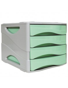 Cassettiera Keep Colour Pastel Verde Arda - 15P4PPASV
