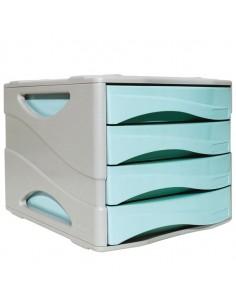 Cassettiera Keep Colour Pastel Azzurro Arda - 15P4PPASBL