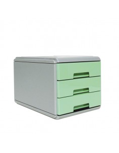 Mini Cassettiera Keep Colour Pastel Verde Arda - 19P3PPASV
