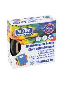 Nastro Adesivo Telato Tpa Bianco 200 19Mmx2,7Mt Eurocel - 016014194
