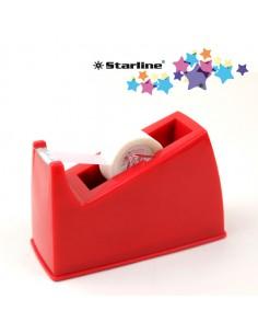 Dispenser Da Banco Per Nastri 33Mt Rosso Starline - 1385 stl