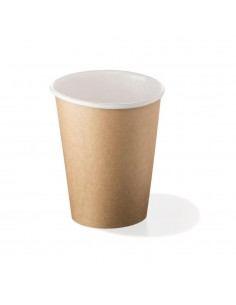 Monouso Bicchiere in cartoncino - Avana - 75ml - 91101 (Conf.50)
