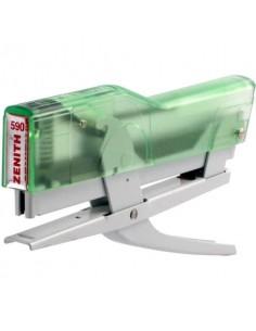 Cucitrice a pinza ZENITH 590 Fun Verde Trasparente/Bianco 0205901856