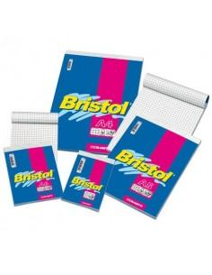 Blocco punto metalico Blasetti BRISTOL 60 ff quadretti 5M A6 10X15cm - 1026