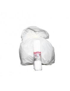 Sacchi immondizia ROLSAC in polietilene rigenerato BIANCO 20 L rotolo da 30 pz. - 10245