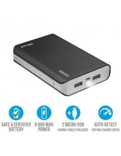 Caricatore portatile Powerbank 8800 Trust Primo nero 21227