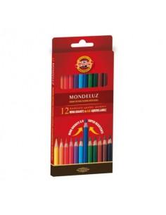 Astuccio matite multicolore KOH-I-NOOR legno di cedro 12 matite - H2139N