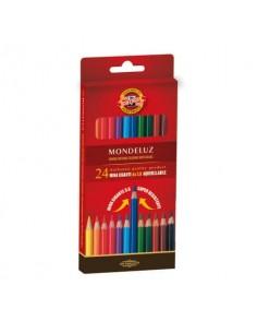 Astuccio matite multicolore KOH-I-NOOR legno di cedro 24 matite - H2140N