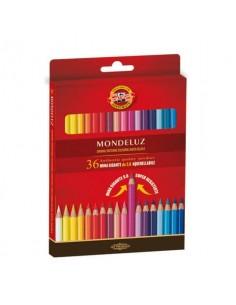 Astuccio matite multicolore KOH-I-NOOR legno di cedro 36 matite - H2141N