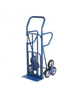 Carrello in acciaio Serena Group 55 x 52-80 x h. 140 cm blu HT4028