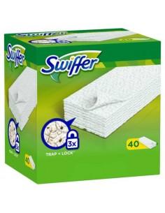 Panni ricarica Swiffer DRY per pavimenti verde conf. da 40 - PG012