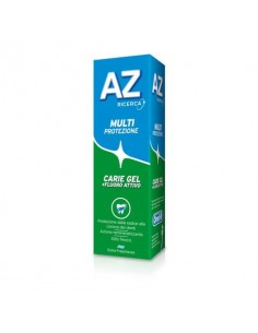 Dentifricio AZ Multiprotezione carie gel tubetto da 75 ml PG022