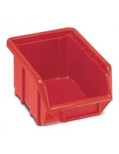Sistema di contenitori sovrapponibili TERRY Eco Box 111 rosso 1000433
