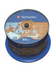 DVD-R Verbatim 16x 4.7 GB in confezione da 50 dvd - 43533