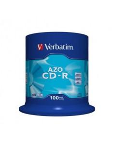 CD-R AZO Verbatim 700 MB in confezione da 100 dvd-r - 43430