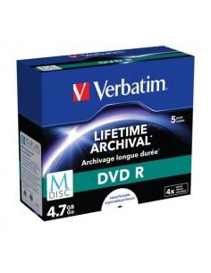 DVD R M-Disc Stampabile Verbatim 4.7 GB conf. da 5 - 43821