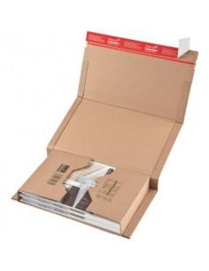 Scatola fustellata ColomPac in cartone ondulato f.to 51x33x8,5 cm avana conf. da 20 scatole - CP 020.18