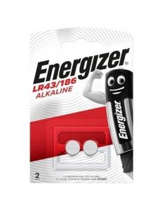 Batterie alcaline a bottone ENERGIZER LR43/186 conf. da 2 - E301536500