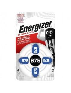 Batterie a bottone ENERGIZER 675 conf. da 4 - E001082205