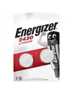 Batterie al litio a bottone ENERGIZER CR2430 conf. da 2 - E300830303
