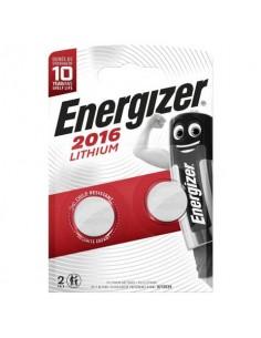 Batterie al litio a bottone ENERGIZER CR2016 Conf. 2 pezzi - E301021903